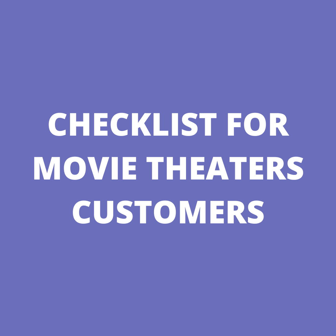 CHECKLIST FOR MOVIES CUSTOMERS